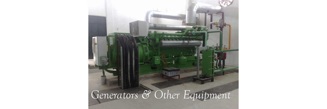 Generators & Other machinery